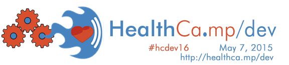 Healthca.mp/dev 2016 May 7, Washington DC #hcdev16
